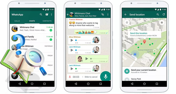 Скачать WhatsApp на Android смартфон